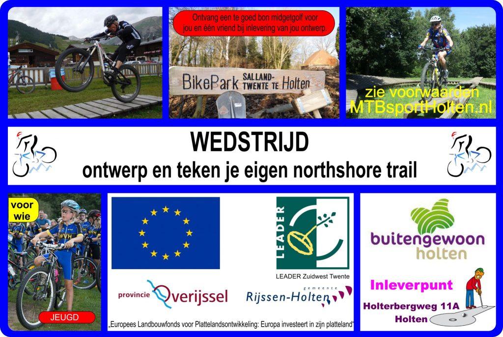 Picture: Ontwerp wedstrijd bikepark holten